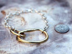 Odette New York | Oblique Chain Bracelet | Firecracker