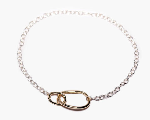 Odette New York | Oblique Collar Necklace | Firecracker