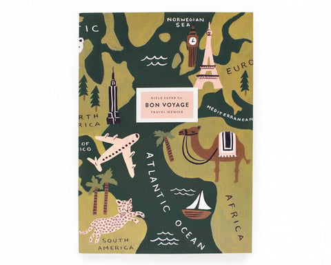 "Rifle Paper Co. | ""Bon Voyage"" Travel Journal 