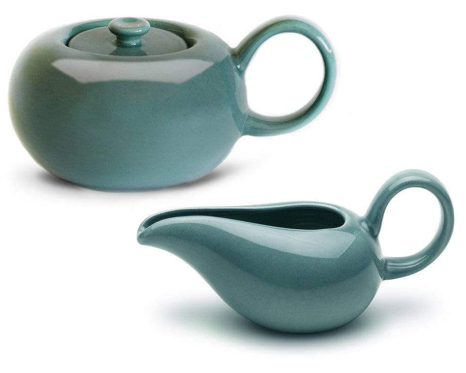 "SHOP Russel Wright ""American Modern"" Sugar Bowl + Creamer Set 