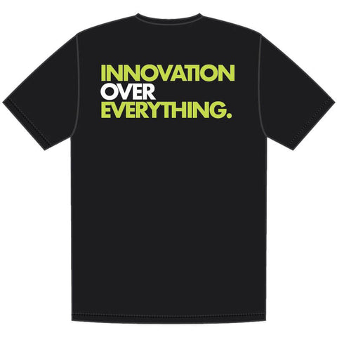 PRE SALE- VERY LIMITED EDITION GUERRILLA CHEMIST CHEMIX INNOVATION OVER EVERYTHING T-SHIRT (ITEM SHIPS ON SEPTEMBER 20TH 2019)