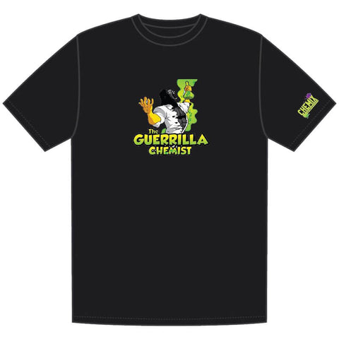 LIMITED EDITION GUERRILLA CHEMIST CHEMIX INNOVATION OVER EVERYTHING T-SHIRT