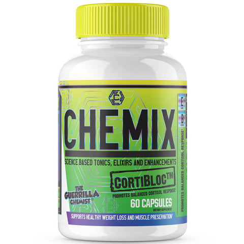 Image of CHEMIX PRE WORKOUT + KING OF PUMPS + CORTIBLOC (STACK W/ FREE LIMITED EDITION SHAKER CUP AND E BOOK)