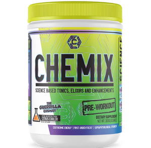 CHEMIX PRE WORKOUT + KING OF PUMPS (STACK W/ FREE SHAKER, T-SHIRT, AND E BOOK)