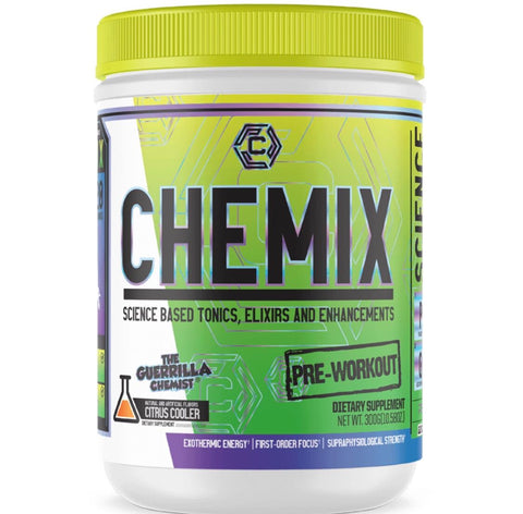 Image of CHEMIX PRE WORKOUT + KING OF PUMPS (STACK W/ FREE SHAKER, T-SHIRT, AND E BOOK)