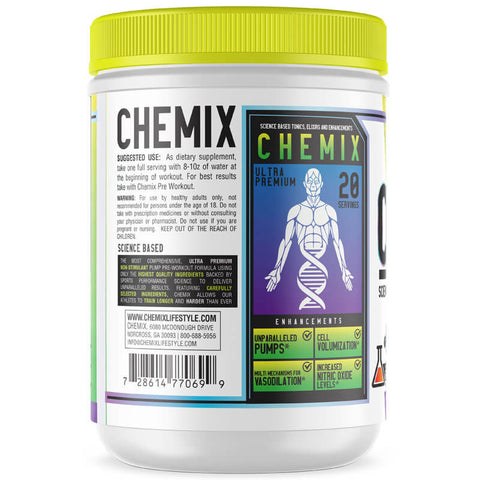 CHEMIX- KING OF PUMPS (SCIENCE BASED PUMP FORMULA BY THE GUERRILLA CHEMIST)