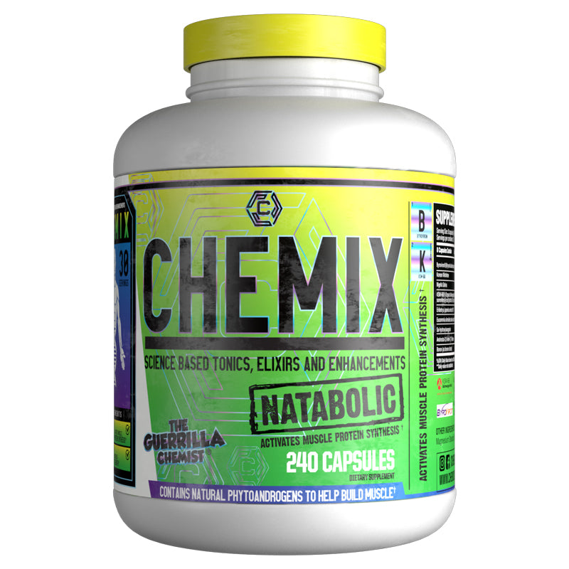 CHEMIX- NATABOLIC TESTOSTERONE BOOSTER (FORMULATED BY THE GUERRILLA CHEMIST)