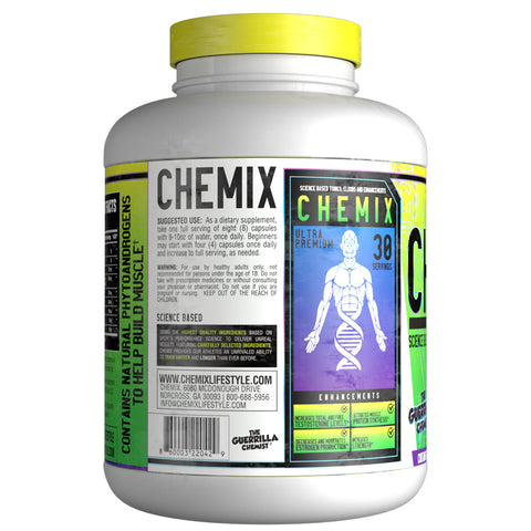Image of CHEMIX- NATABOLIC TESTOSTERONE BOOSTER (FORMULATED BY THE GUERRILLA CHEMIST)