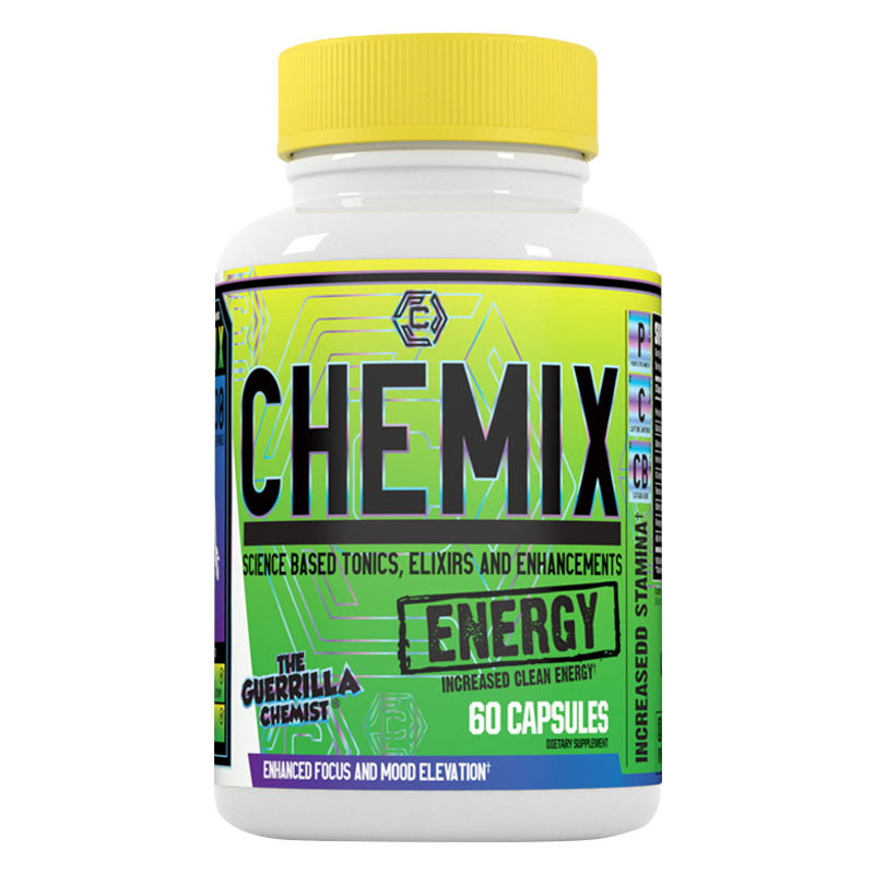 CHEMIX ENERGY (SCIENCE BASED ENERGY FORMULA) FORMULATED BY THE GUERRILLA CHEMIST