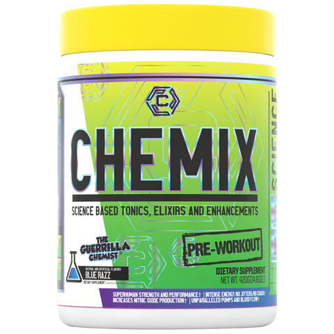 CHEMIX PRE-WORKOUT V2- (SCIENCE BASED PRE-WORKOUT BY THE GUERRILLA CHEMIST)