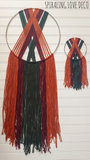 """Autumn in Vermont Mini-Me"" Hoop Wall Hanging"