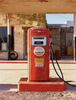 Red Gas Pump