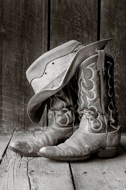 Hat and Boots I Tom Kirkendall