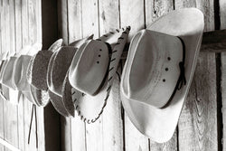 Hat and Boots at the Ranch I Tom Kirkendall