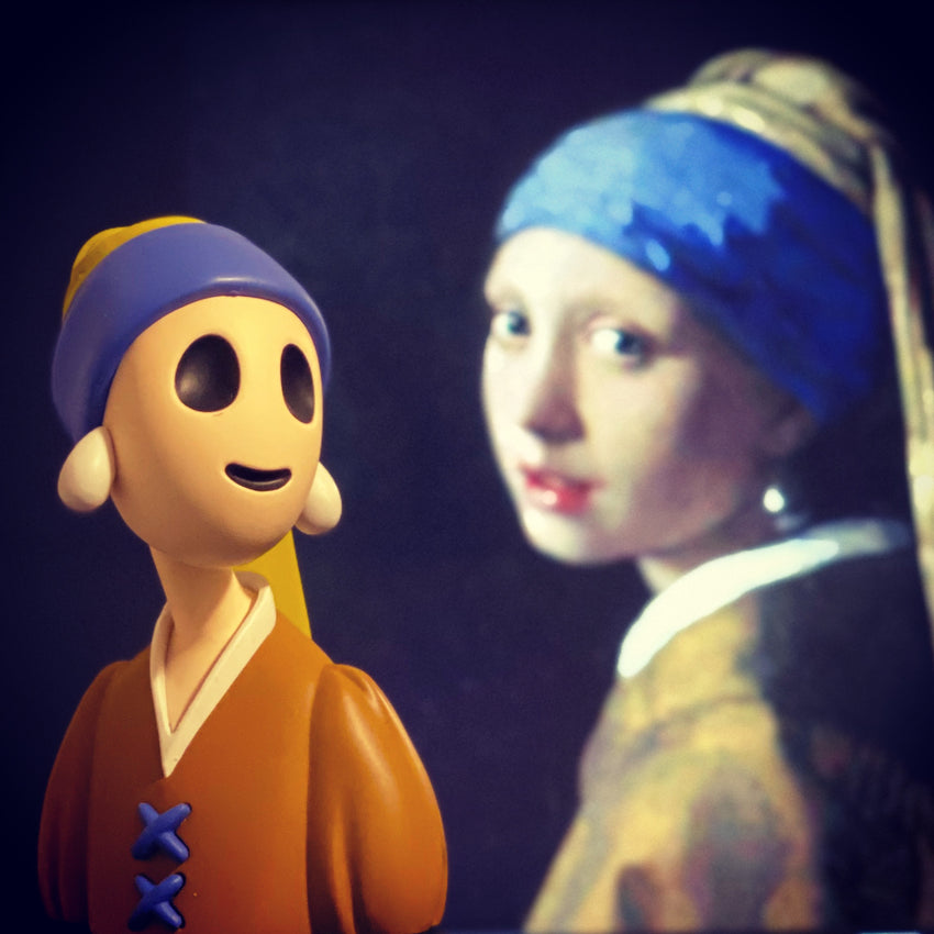 I COULD SCREAM4EVER——Girl with a Pearl Earring