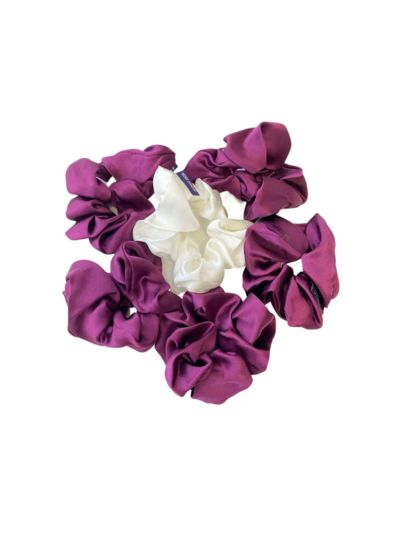 Mulberry Muse#Silk Scrunchie Hair Accessory Look Polished Anytime | More Sunday Bridal Proposal Silk Scrunchie Sets lunya morgan lane