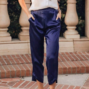 Midtown Cropped Pants · Royal Blueberry