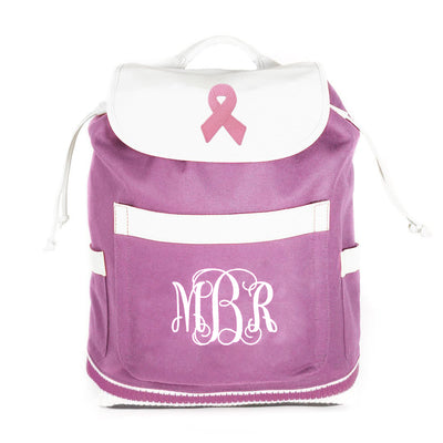 Breast Cancer Letterman Bag