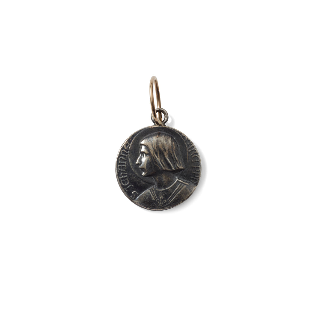 Large Iconic Joan of Arc Pendant