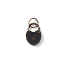 Load image into Gallery viewer, VINTAGE LOCK PENDANT- BRONZE