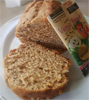 Banana Bread with Veggie Boost
