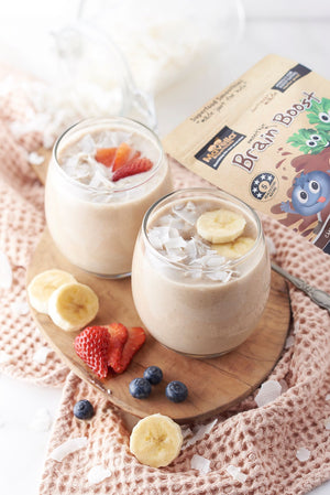 Coconut Banana Brain Boost Smoothie