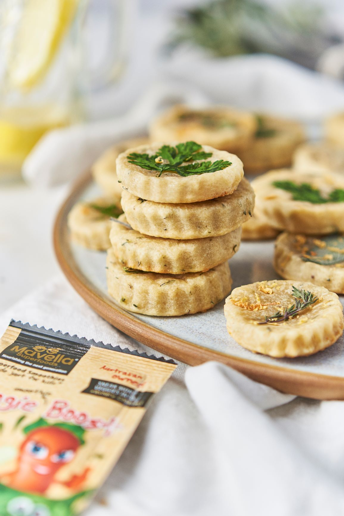 Herb Shortbread