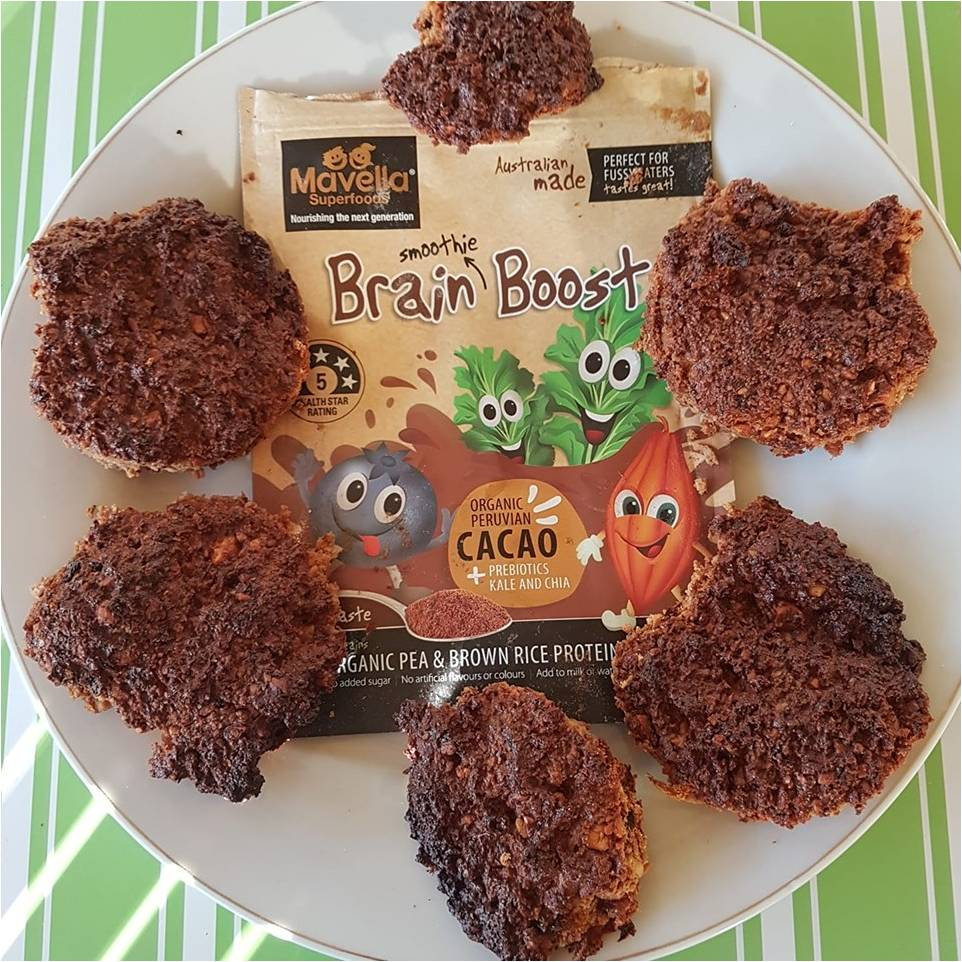 Nut and Brain Boost Biscuits