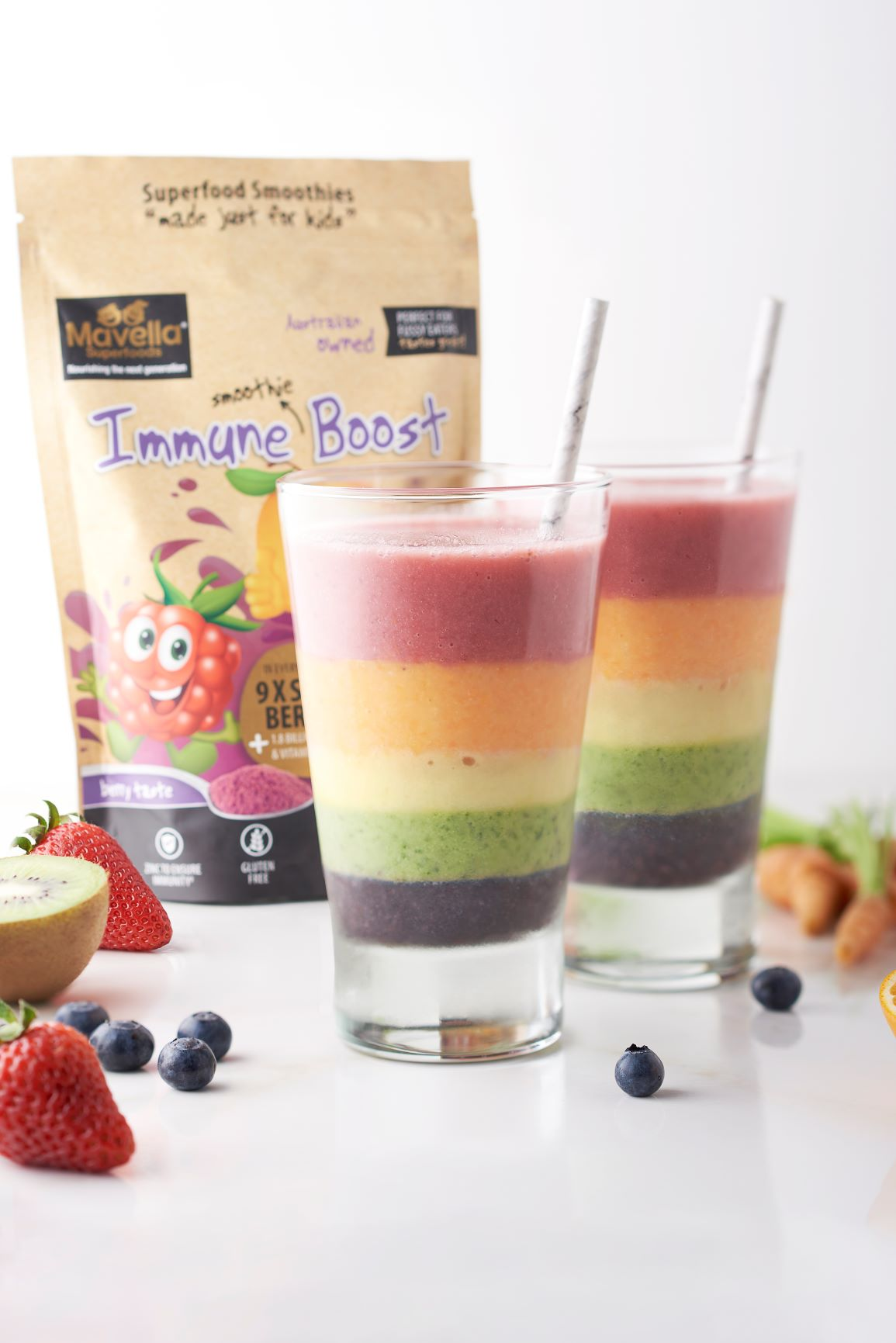 Rainbow Smoothie