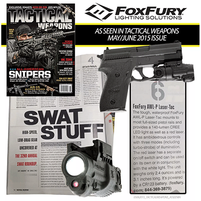 As Seen In Tactical Weapons Magazine May/June 2015