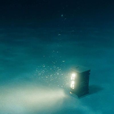 FoxFury Nomad Lights Illuminate Models underwater and Crew Above the Water