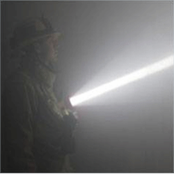 Breakthrough LED Firefighter Light Slays Smoke and Saves Lives