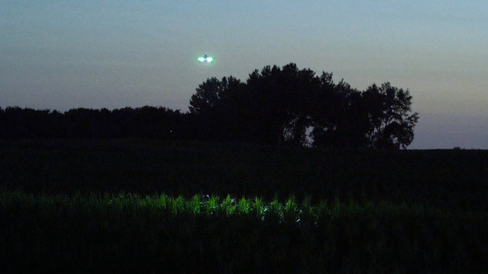 Case Study: Search for Fugitive with Drones and Rugo Lights