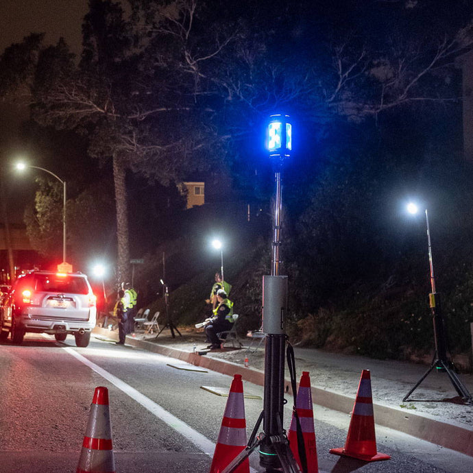 FoxFury Lights Used at DUI Checkpoint