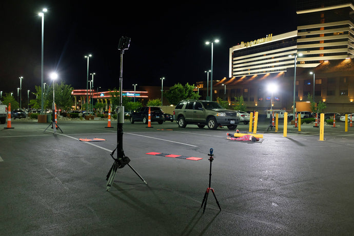 Case Study: UAV Night Crime Scene Mapping