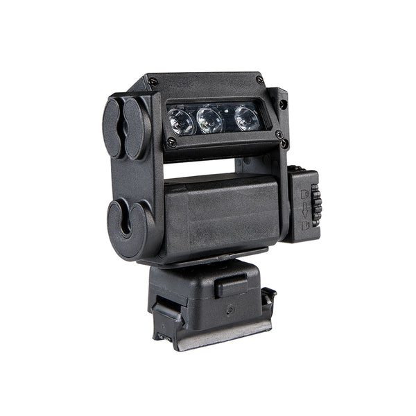 FoxFury HHC Tactical Light - shown in black