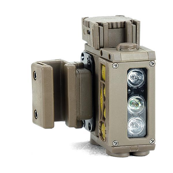FoxFury HHC Tactical Light - shown in ODG