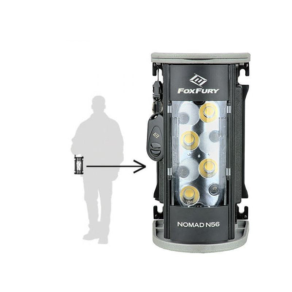 FoxFury Nomad® N56 Production Light -Studio quality light delivers up to 2,700 lumens of 95 CRI 5600K daylight balanced lighting