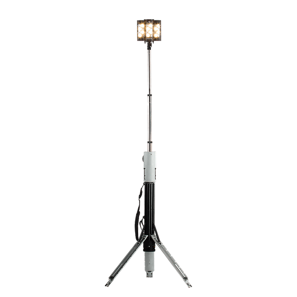 FoxFury Nomad® T32 Production Light - rugged light source for photo, video and film extends over 8 feet tall