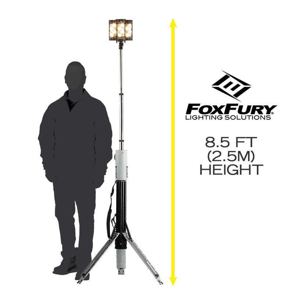 FoxFury Nomad® T32 Production Light - rugged light source for photo, video and film