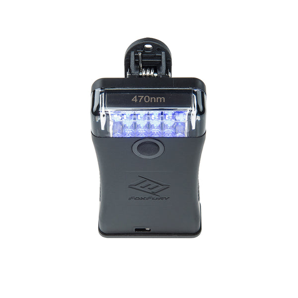 FoxFury Scout 470nm Blue Forensic Light System Top View