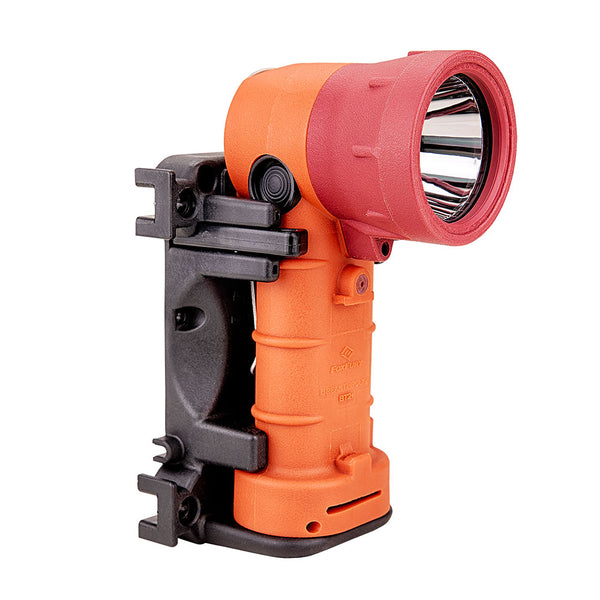 FoxFury Breakthrough® BT2+ Orange Hybrid Light Rechargeable - professional, long distance search tool has 700 lumens. Waterproof. Fire-Resistant