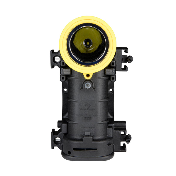 FoxFury Breakthrough® BTS Rechargeable Right Angle Light - Black and Yellow