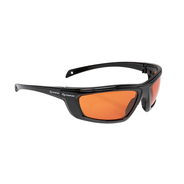 FoxFury CS Eye Glasses for Forensics side view