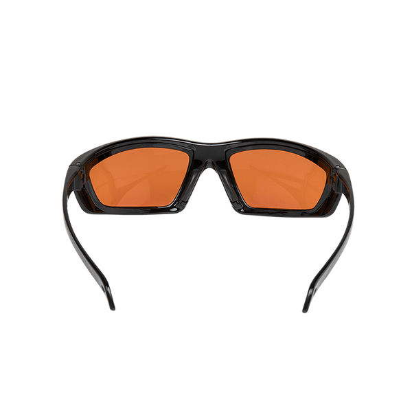 FoxFury CS Eye Glasses for Forensics back view