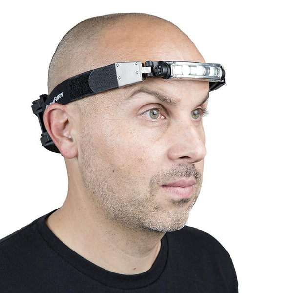 FoxFury Elastic Strap (Replacement) for Headlamps shown on Discover Headlamp model
