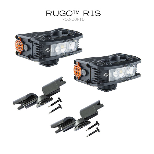 FoxFury RUGO Light System for DJI Drone has strobe light