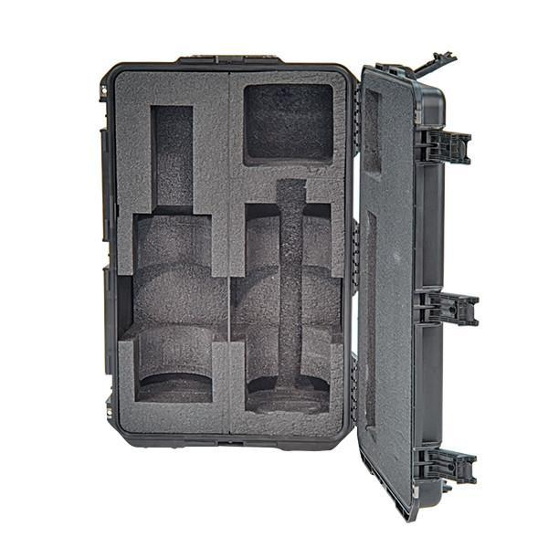 Nomad® Transformer® Hard Case by FoxFury - Strong and durable case has lifetime warranty. Shown with empty slots