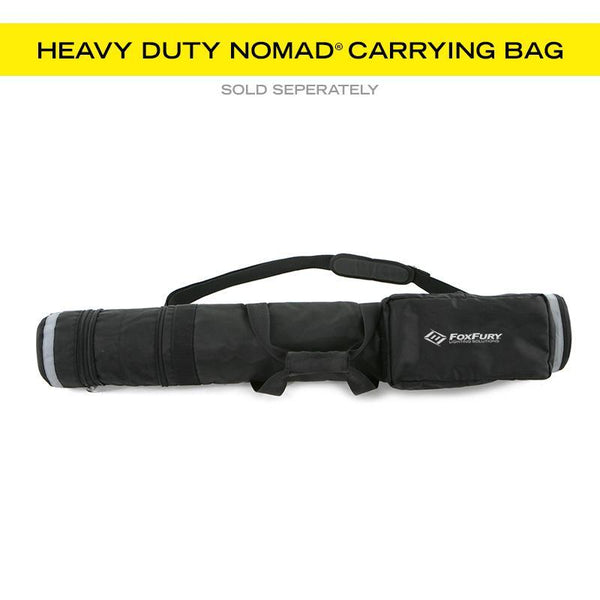FoxFury Nomad® P56 Production Light - can be stored and transported in a heavy duty Nomad Carrying Bag (sold separately).