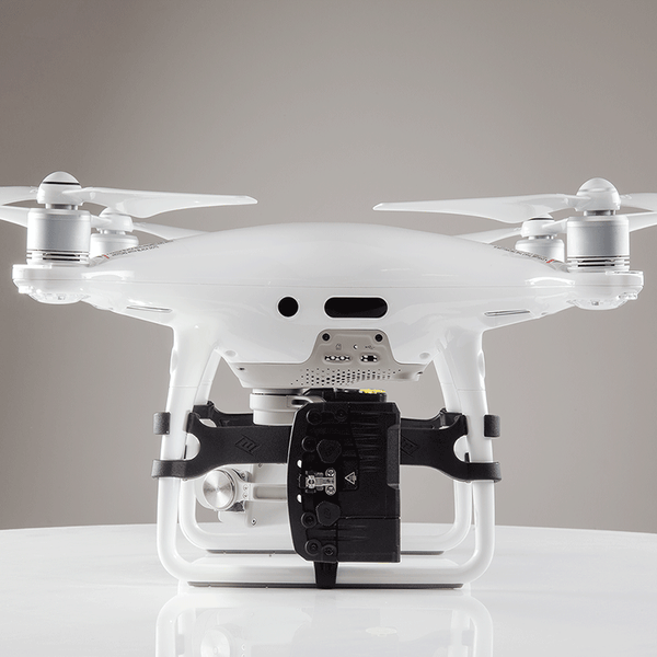 Rugo Drone Mount for DJI Phantom 4 - shown on a DJI drone
